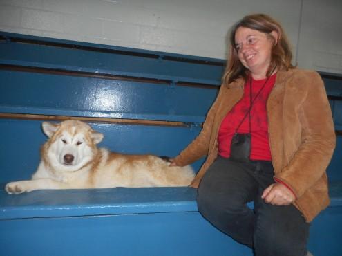 SARAH AND NAT DOGSHOW 1